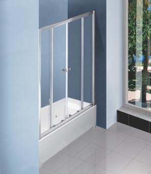 Раздвижные шторы для ванны